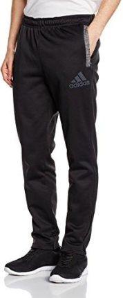 Amazon Adidas Męskie spodnie Team issue Polar Taper, czarny, M