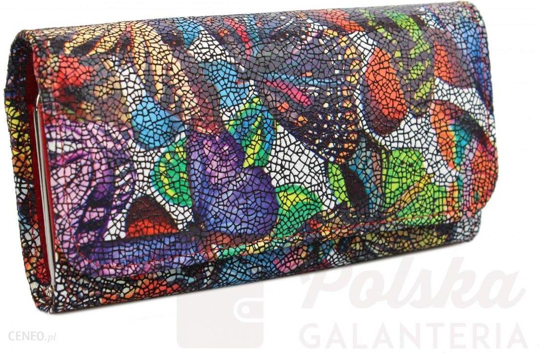 94d04fc096b29 Portfel Damski ANDRUS (PL) Długi Klamra Skóra Naturalna Kolorowy - zdjęcie 1