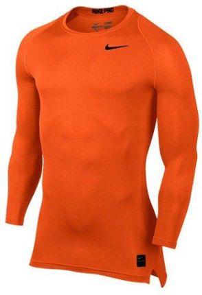 e7799bd46fc129 Amazon Nike M NP Top Comp LS CRW Shirt, mężczyzn, pomarańczowa, l