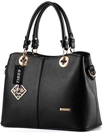 9347848fdaf58 Amazon tibes damska sztuczna skóra torebka torba z paskiem na ramię moda na  prezent, kolor