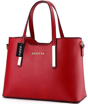 ead19fec05746 Amazon tibes luksusowy rękawice ze skóry PU futerał na moda torba na ramię torba  torba