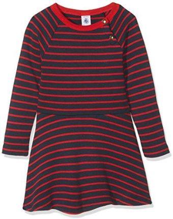 8d806276be Amazon Boboli sukienka dziewczęca Knit Stretch Dress for Girl - 116 ...