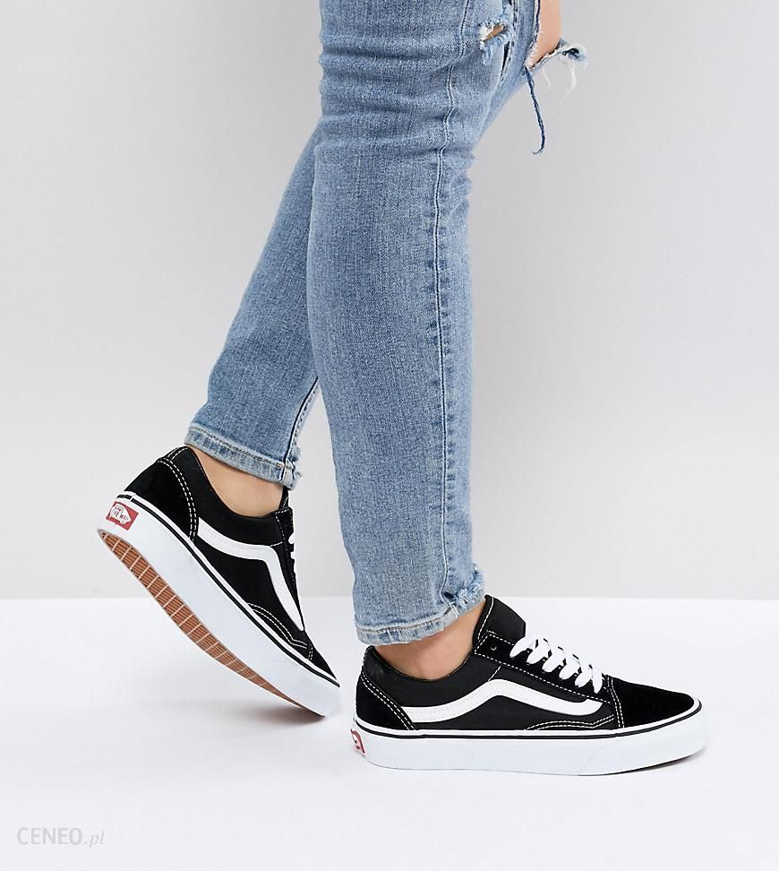 Vans Classic Old Skool Trainers In Black And White Black Ceneo.pl