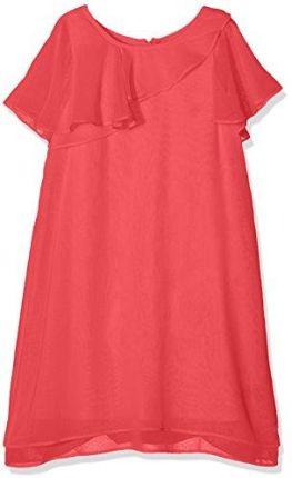 516ed6b34a Al-Da Stylowa biała sukienka prosta i elegancka 134 - 158 Sylwia ...