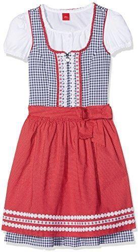 0cf9c10b10 Amazon S. Oliver sukienka dla dziewczynki - ludowa sukienka  bawarska austriacka 134 - zdjęcie