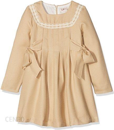 6b0b2d5cb7 Amazon La ormiga sukienka dla dziewczynki - 8 lat beżowy (camel) - zdjęcie 1