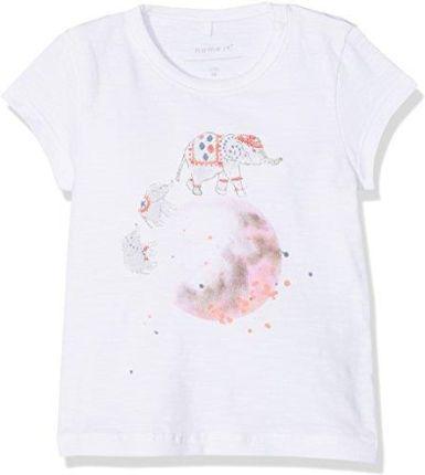 08baa51a0f33b Amazon Name it Baby-T-Shirt dla dziewczynki nbfgamisse SS Top, kolor: