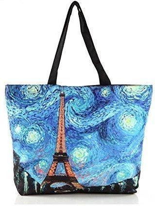 180100e861336 Amazon zenteii duża torba na zakupy worek torba wykonana z poliestru dla  kobiet