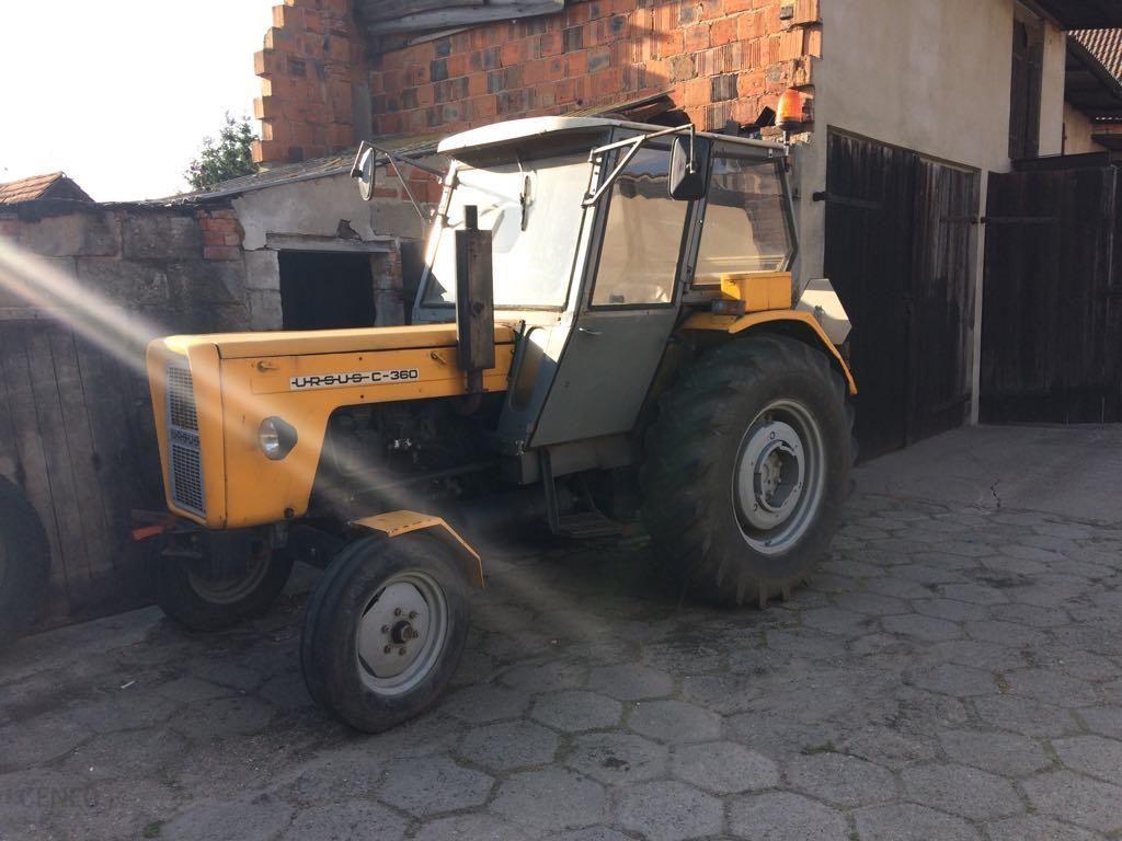Sprzedam Maszyny Rolnicze Ciagnik C360 Opinie I Ceny Na Ceneo Pl