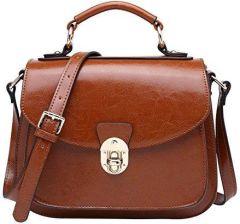 64913e0f44036 Amazon boyatu Womens skóra torebki na ramię Top uchwytu torba Satchel dla  pań, kolor: