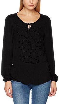 Amazon Cream torebka damska bluzka sibel flounce blouse, kolor  czarny  (Pitch Black 61907 b7af09712b