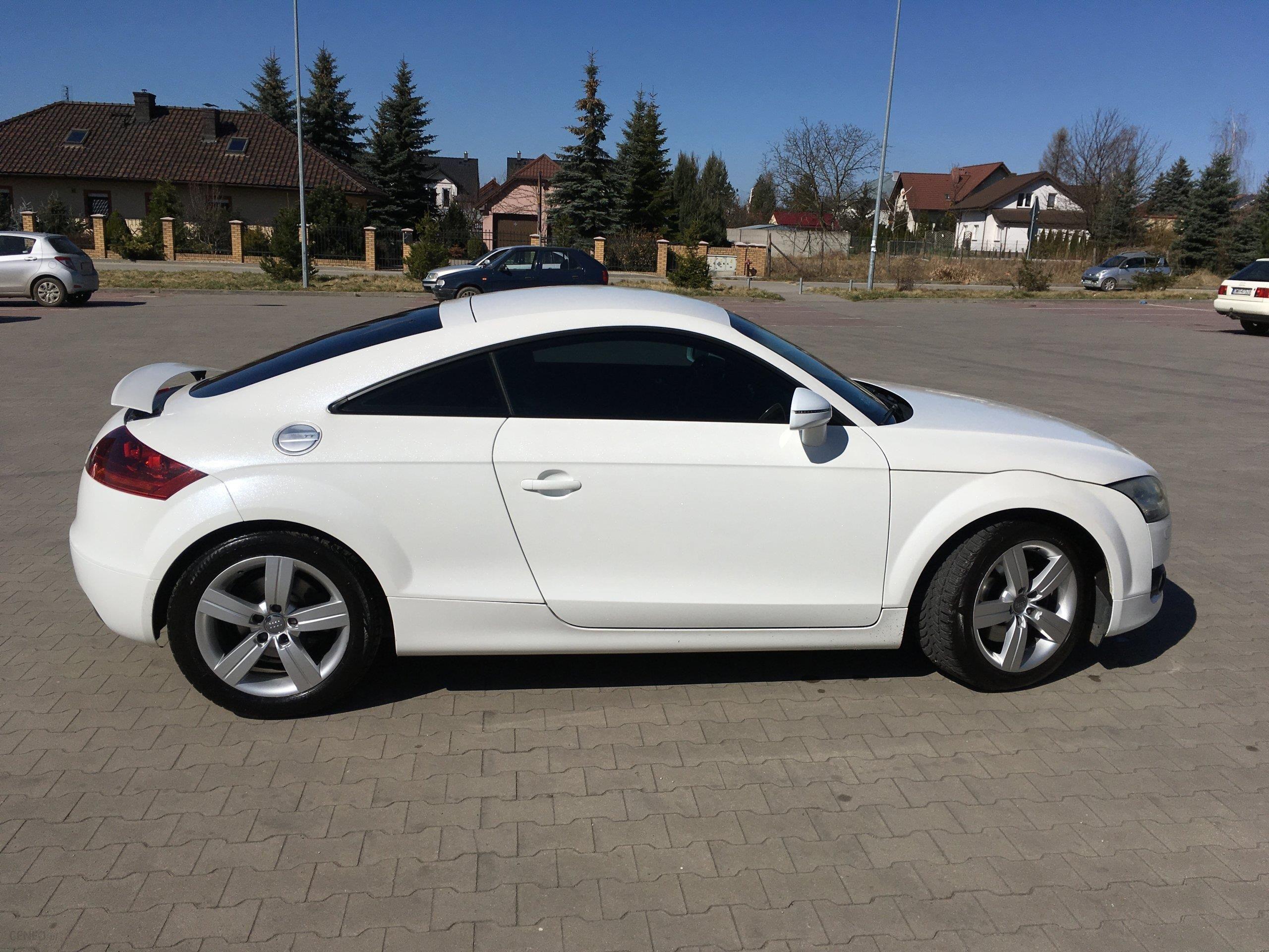 Audi Tt 8j 2010 Diesel 170km Biały Opinie I Ceny Na Ceneopl