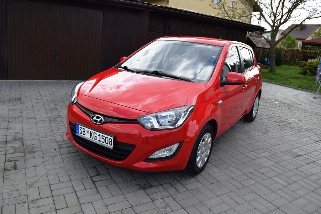 Nowość Hyundai i20 I 2012 benzyna 85KM hatchback czerwony - Opinie i ceny ID93