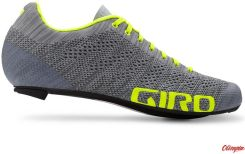 Giro Empire E70 Knit grey heather highlight yellow