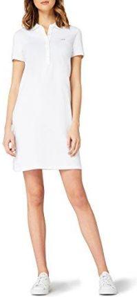 c8f69bdf457d71 Amazon Lacoste damska sukienka, kolor: biały (biały) , rozmiar: 38