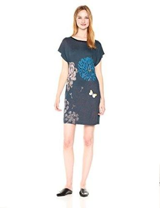 122e799a4c Wow Point Czarna Wizytowa Trapezowa Sukienka Koronkowa z Dzwonkowym ...