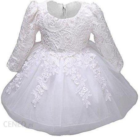 3b72165830 Amazon myosot is510 dziewcząt-koronka-księżniczka-ślub-sukienka do  chrztu-długa