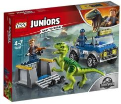 Lego Juniors Jurassic World Na Ratunek Raptorom 10757