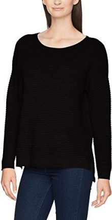 836ea773f410 Amazon Selected Femme sweter damski sflaua LS Knit Oversize Wide o-Neck noos,  kolor
