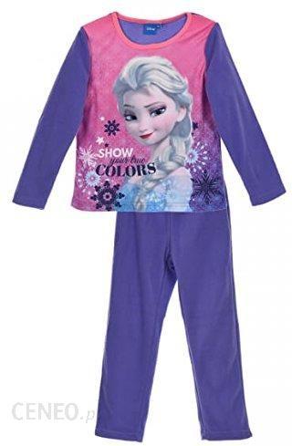 dc5c1b73c8393e Amazon Disney Frozen Anna Elsa dziecięca Polar pidżama zimowa/bielizna nocna  - 4 lata liliowy