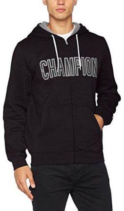 e674180dd Amazon Champion męski sweter z kapturem z Full Zip Bluza z  kapturem-Contemporary Graphics -