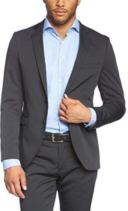 b51f0bf9b8ea4 Amazon Esprit Collection męska kurtka garnitur 994eo2g911 - marynarka męska  czarny (black 001)