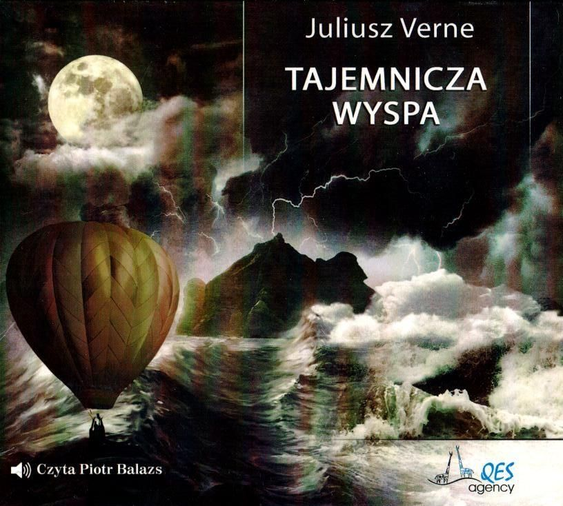Tajemnicza wyspa. Audiobook QES - Verne Juliusz