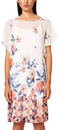 46dda21e6a31a5 Amazon Esprit Collection torebka damska sukienka na imprezę, kolor: biały  (Off White 110