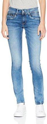 2164d94d50cd Amazon Pepe Jeans dżinsy damskie Slim New brooke - wąski W30 L32 niebieski ( denim