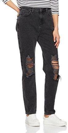bcc0946444f6d Amazon New Look Tall jeansy z prostą nogawką panie, kolor: szary, rozmiar:
