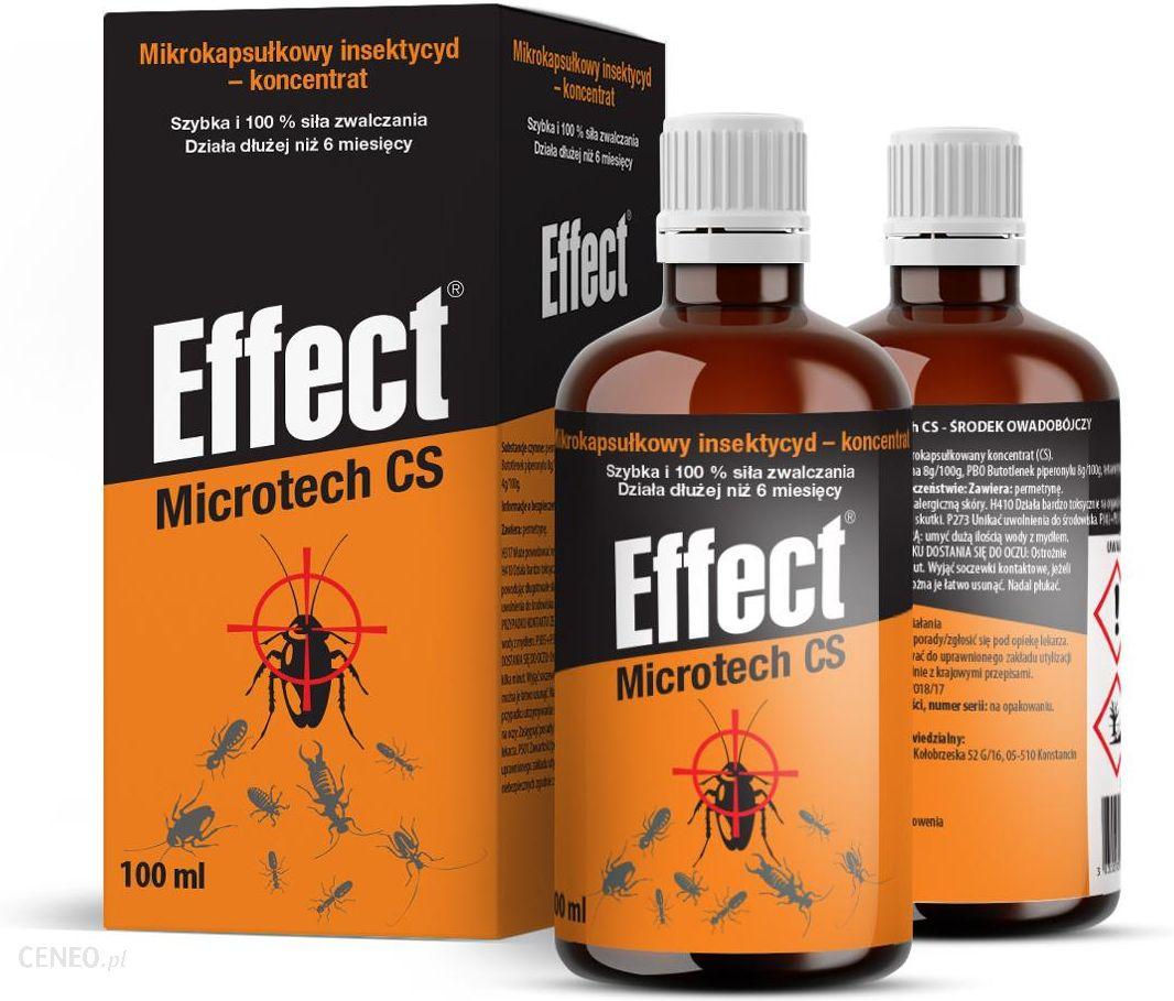 Effect Preparat Na Pluskwy Srodek Microtech Cs 100ml Ceny I Opinie Ceneo Pl