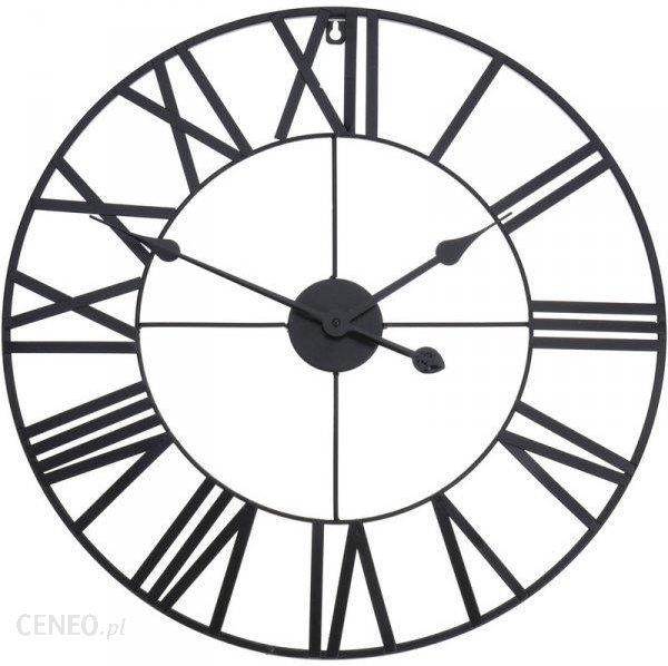 Segnale Zegar Ścienny Metalowy Duży Retro Loft 57 Cm (130815)