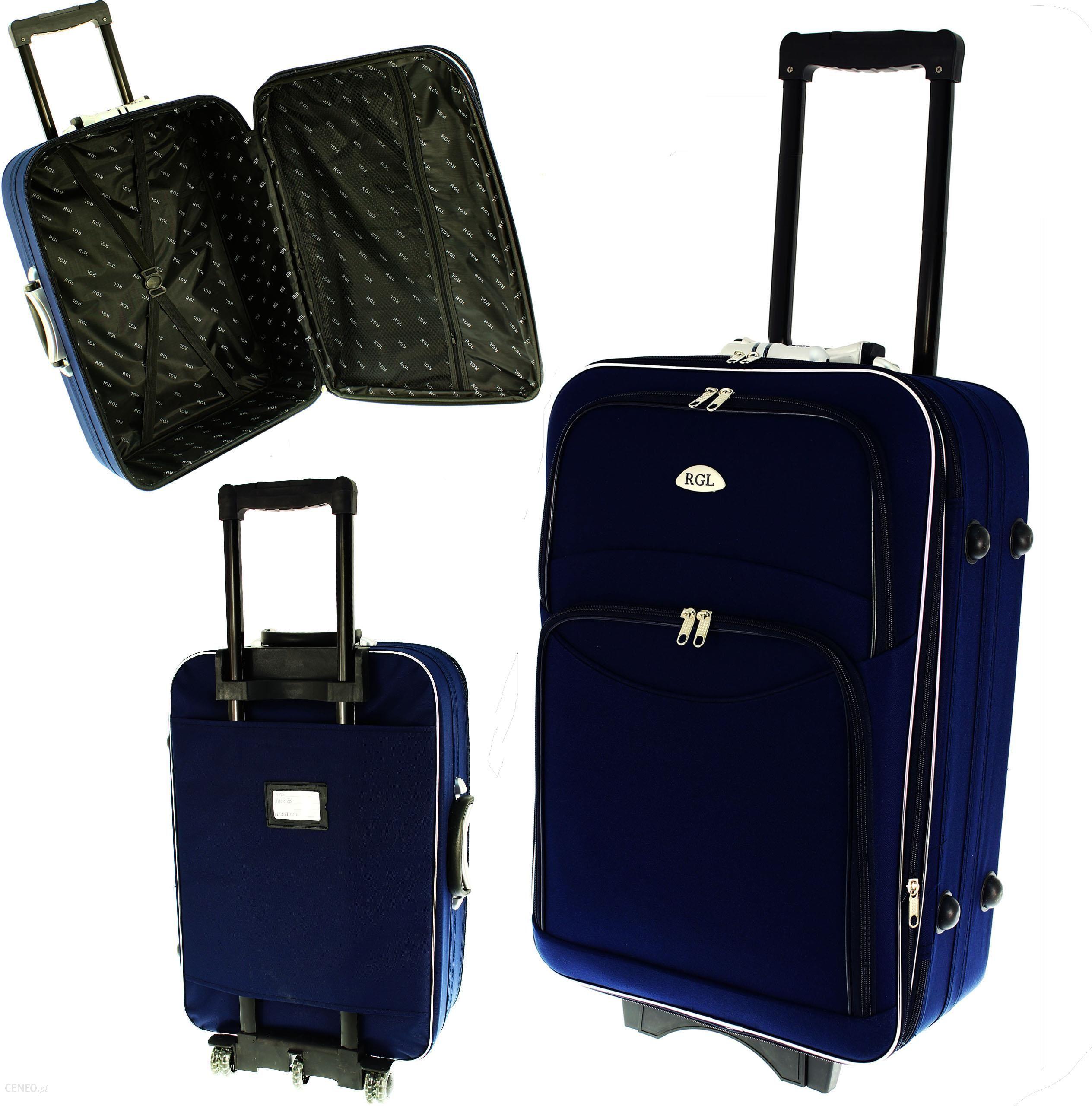 7cc15e804e63 773 Rgl Walizka podróżna mała na kółkach 55x40x20 - Ceny i opinie ...