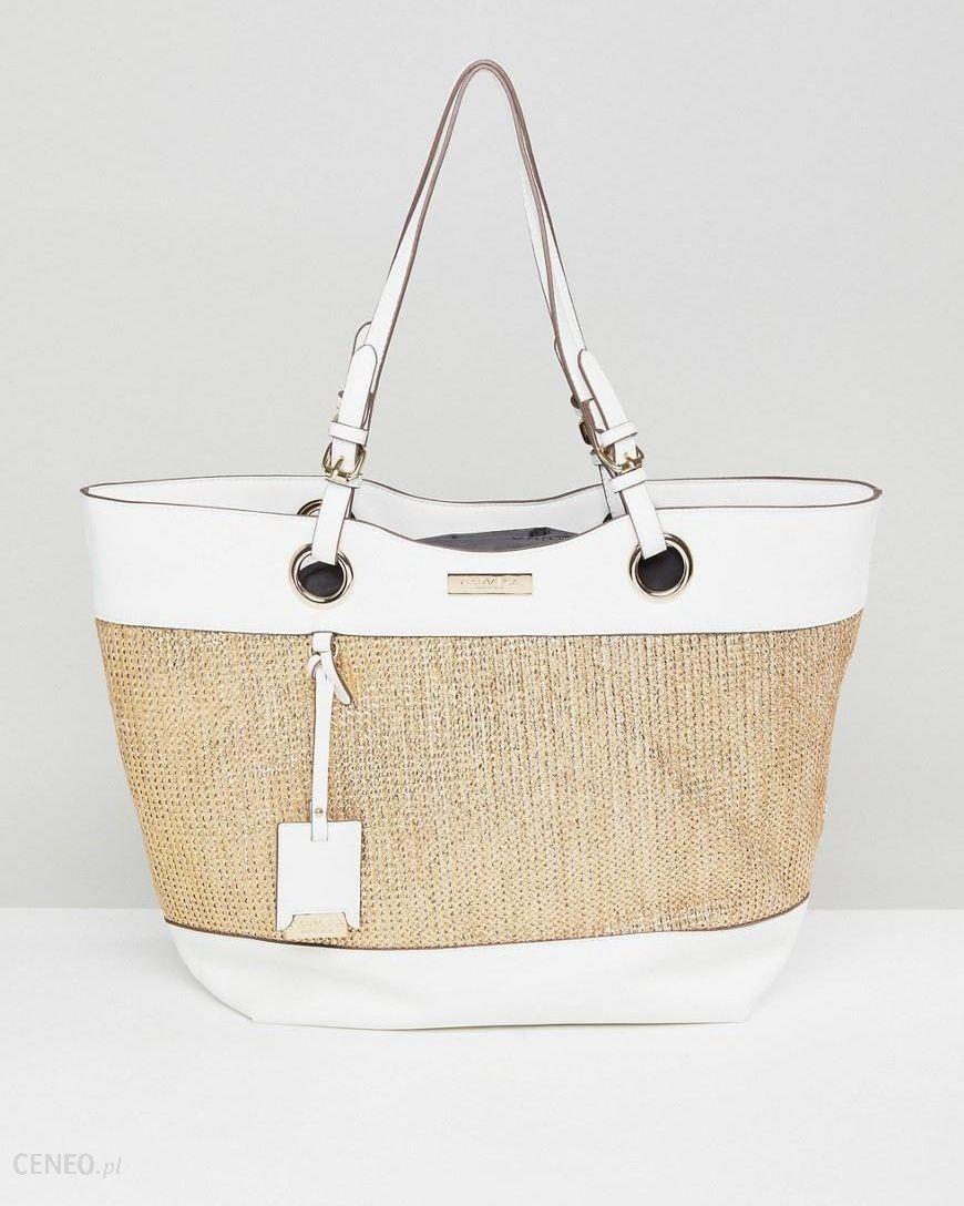 80c90b00888b Carvela Structured Tote Bag - Cream - zdjęcie 1