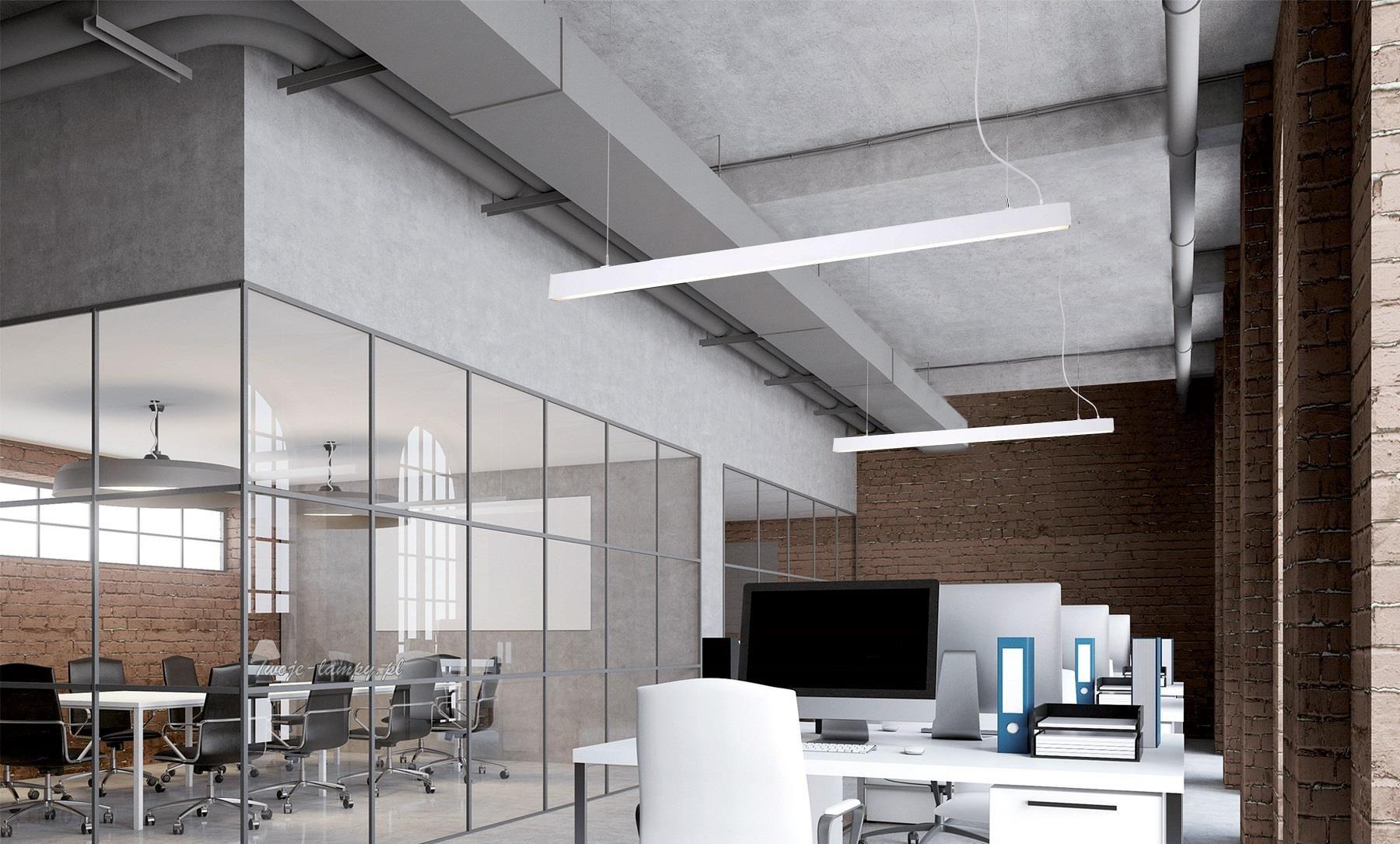 NOWODVORSKI OFFICE LED WHITE 9355 lampa wisząca