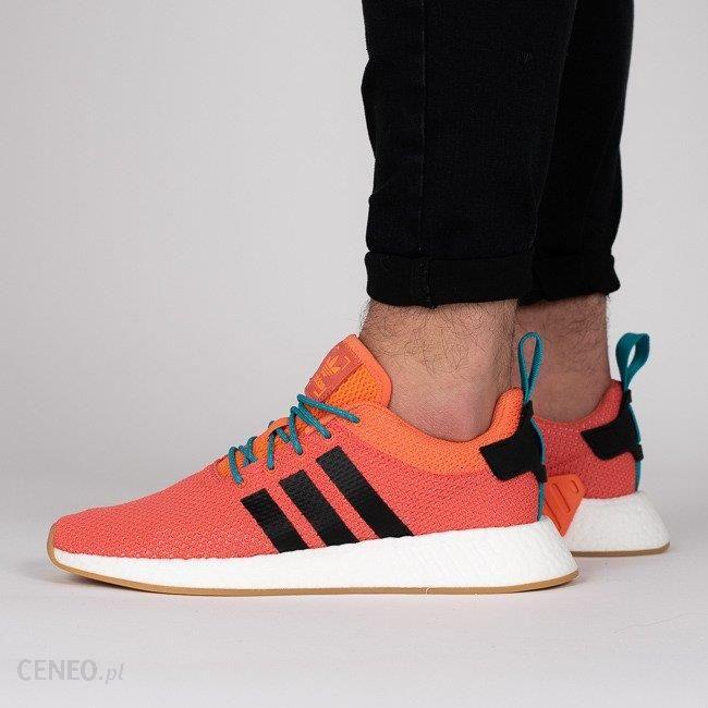 Buty męskie sneakersy adidas Originals Nmd_R2 Summer CQ3081 POMARAŃCZOWY