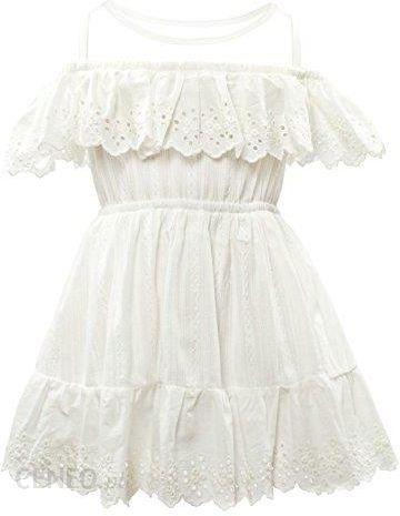 2699ed88df Amazon Ciel arko dziewcząt sukienka bez rękawów Kids ubranie - A-linie  biały - zdjęcie