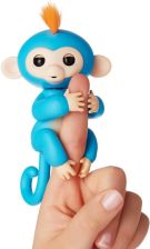WowWee Fingerlings Małpka Boris Niebieski 3703A