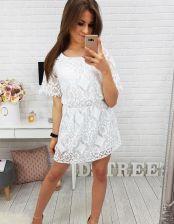 f06c8c0070b Sukienka BOHO BALI WHITE (ey0367) - Biały - Ceny i opinie - Ceneo.pl