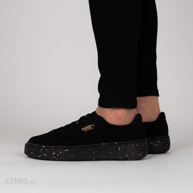 Buty damskie sneakersy Puma Suede Platform Celebrate 365621 01