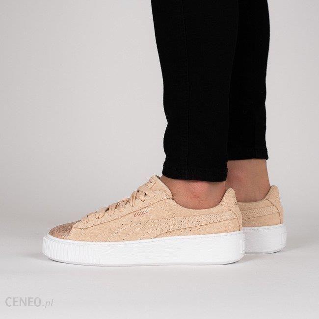 Buty damskie sneakersy Puma Suede Platform LunaLux 366111 02 Ceny i opinie Ceneo.pl