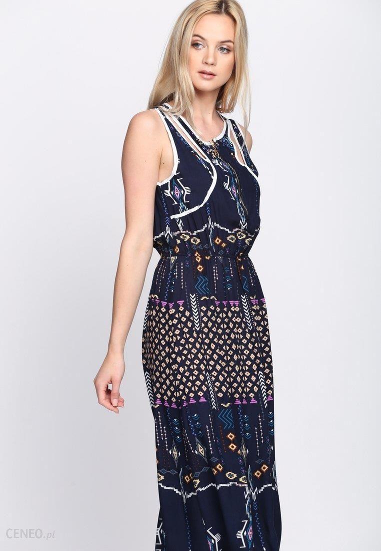 d5675d6540 Granatowa Sukienka Kaleidoscopic Lovers - Ceny i opinie - Ceneo.pl