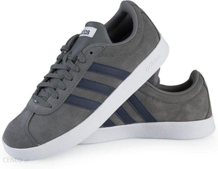 Adidas Buty męskie VL Court 2.0 szare r. 46 (DA9862) Ceny i opinie Ceneo.pl