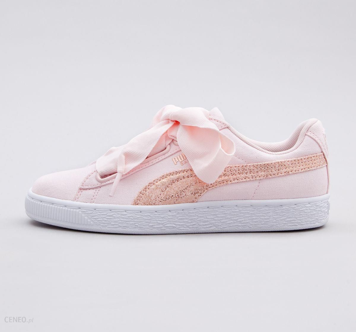 PUMA BASKET HEART CANVAS WN'S