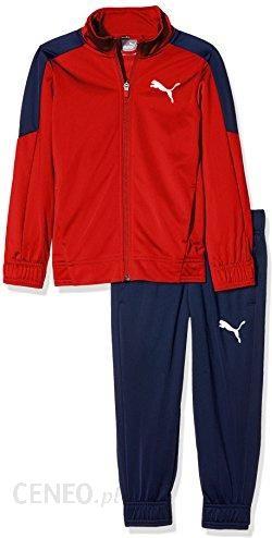 84326e4b Amazon PUMA dzieci L logo Tricot Suit (CL) dres treningowy, czerwony, 140