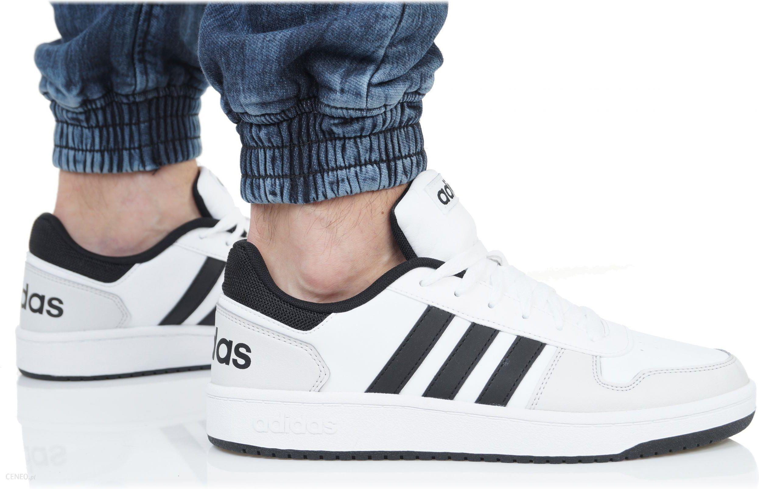 Buty Adidas Męskie Hoops 2.0 DB0116 Białe Ceny i opinie Ceneo.pl
