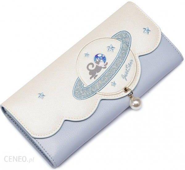 9f563c07a8e65 Just Star JUST STAR Kosmiczny długi portfel Niebieski - Ceny i ...