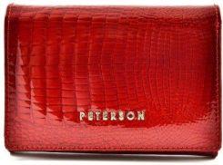 b506c937f4f39 Portfel damski PETERSON BC-721 czerwony - Ceny i opinie - Ceneo.pl