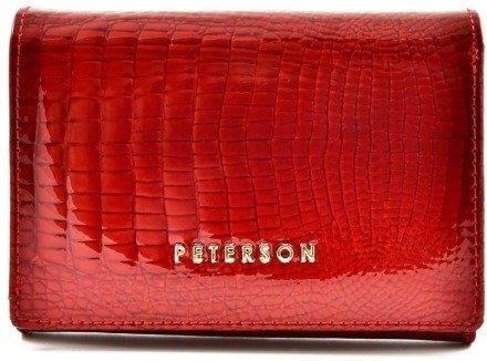 d31e0aa14e0a4 Duży portfel damski praktyczny elegancki gustowne zapięcie - różowy ...