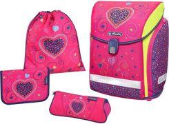 1510441b5d694 Herlitz Zestaw Szkolny Midi Plus Pink Hearts 50013715